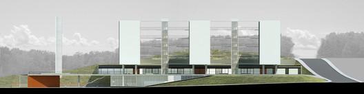 Fachada. Image Cortesia de Albuquerque + Schatzmann arquitetos, Diego Tamanini, Felipe Finger