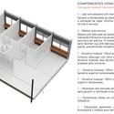 Esquema de concepção modular. Image Cortesia de Albuquerque + Schatzmann arquitetos, Diego Tamanini, Felipe Finger
