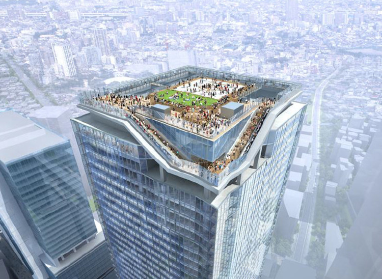 Kengo Kuma, SANAA and Nikken Design New Shibuya Skyscraper, © Tokyu Corporation