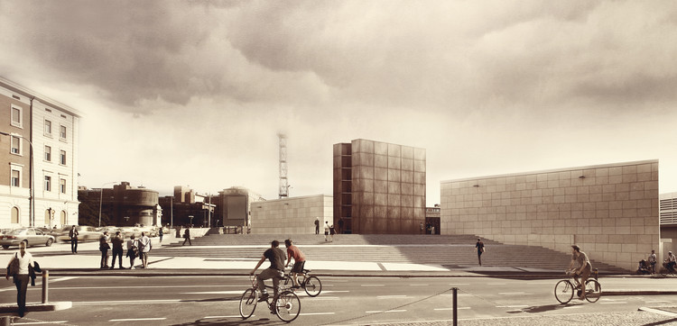 SET Architects Win Bologna Holocaust Memorial Design Competition, Courtesy of SET Architects