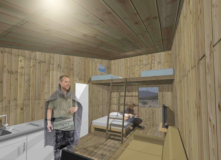 Interior. Image Cortesía de Cnt-A / José Contreras Aguad