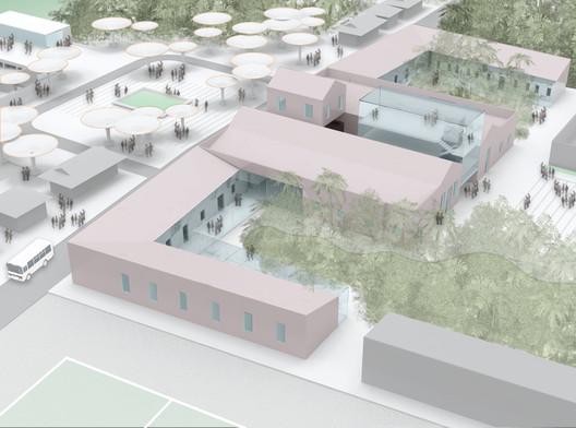 Vista geral do novo plano. Image Cortesia de Studio Lauria