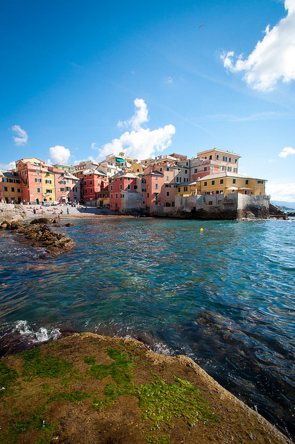 Boccadasse, Genoa. Image © Flickr CC User Giorgio Minguzzi