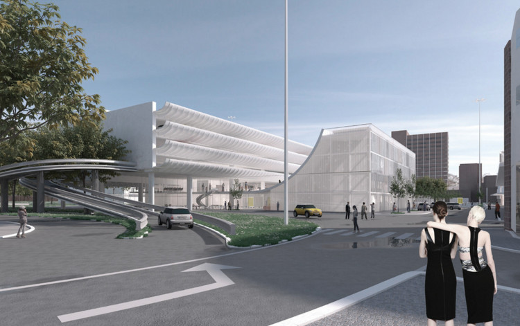 5 Ideas to Transform Preston Bus Station into New Youth Center, © Design 1; Lancashire County Council