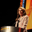 Queen Noor of Jordan. Image via Flickr Creative Commons user Skoll World Forum