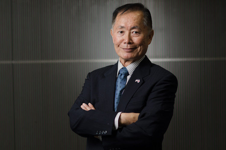 George Takei. Imagen vía Flickr <a href='https://creativecommons.org/licenses/by-sa/2.0/'>Creative Commons</a> user TEDxKyoto