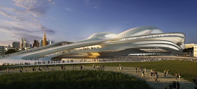 Visualisation. Image © Zaha Hadid Architects