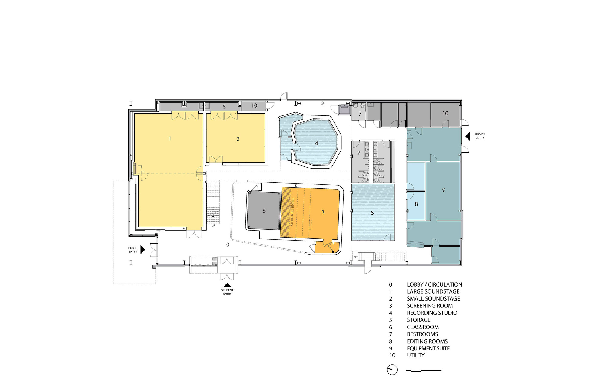 55a9a076e58ece12db000163 Pratt Institutes New Film Video Department Building Wasa Studio A Ground Floor Plan on Small Building Floor Plans