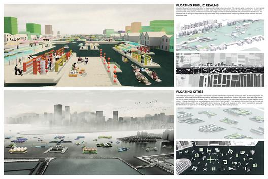 Prancha do projeto Traversal Landscape. Imagem via Social Cooperation Architects