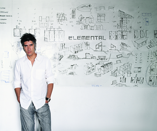 Alejandro Aravena. Image © Cristóbal Palma, Courtesy of la Biennale di Venezia