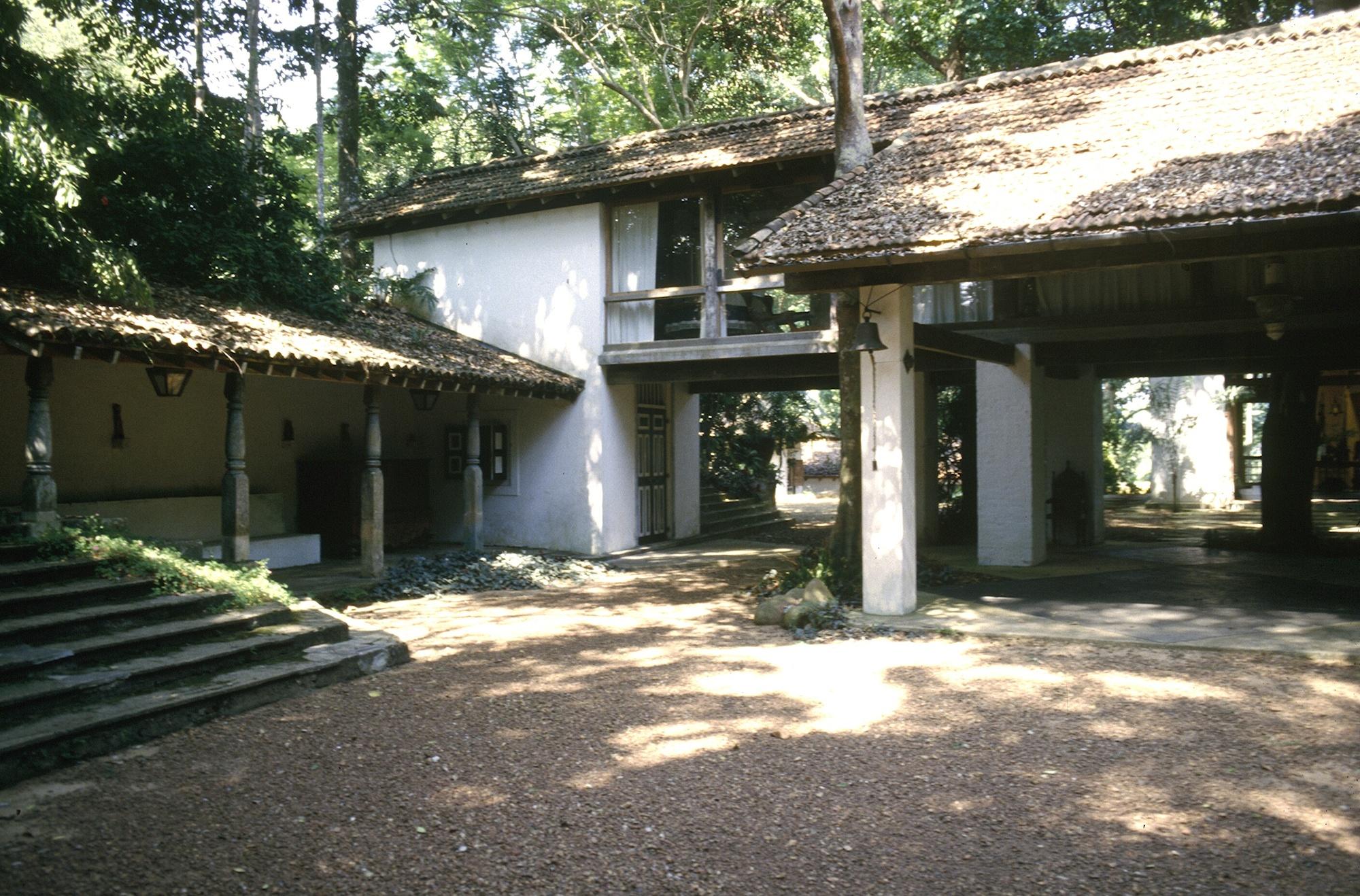 Courtyard House Plan Gallery Of Spotlight Geoffrey Bawa 9
