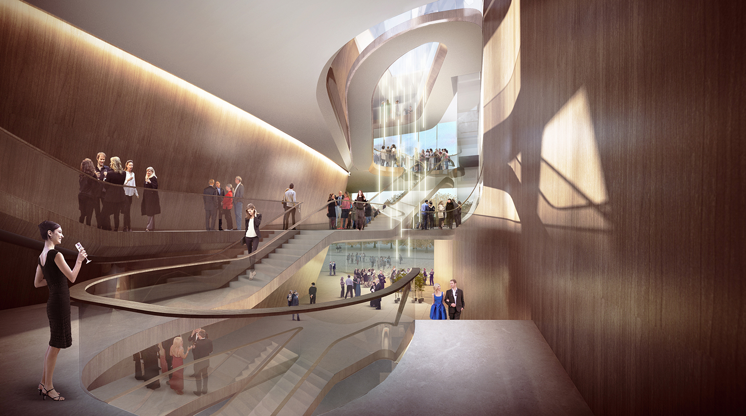 Gallery of unstudio's den bosch theatre design selected through ...