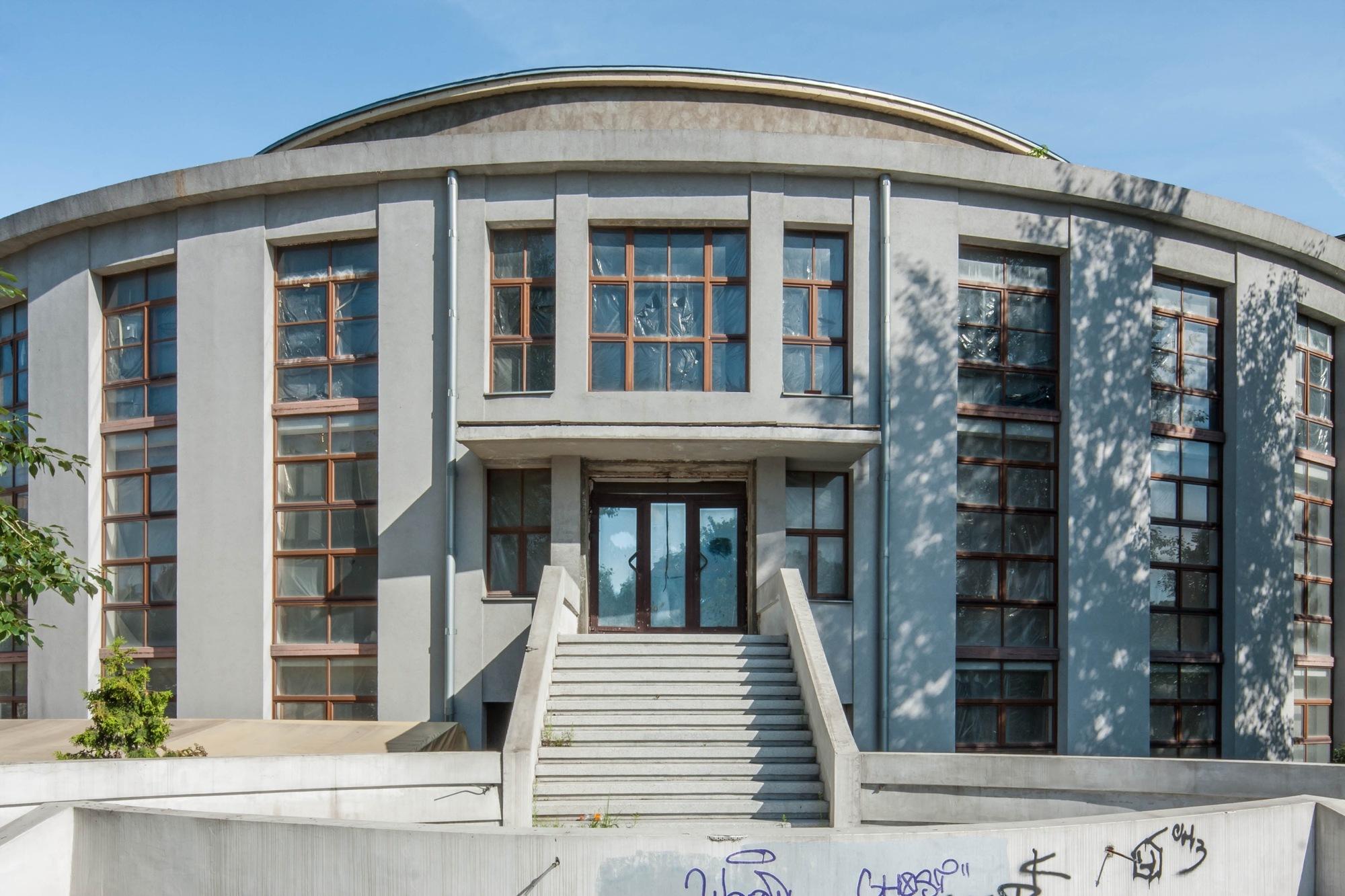 Gallery of the architecture of konstantin melnikov in for Architecture 54