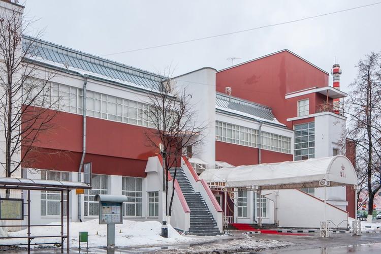 Club de la Fábrica Svoboda (1927-1929) / Konstantin Melnikov. Imagen © Denis Esakov