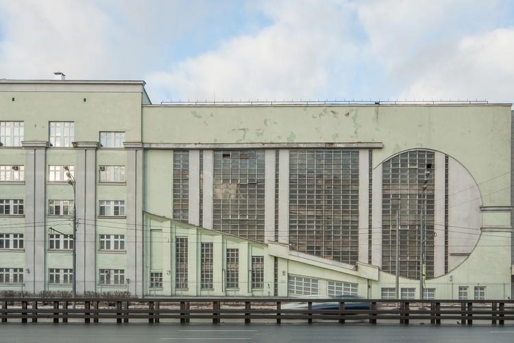 Garage Intourist (1934) / Konstantin Melnikov. Imagen © Denis Esakov