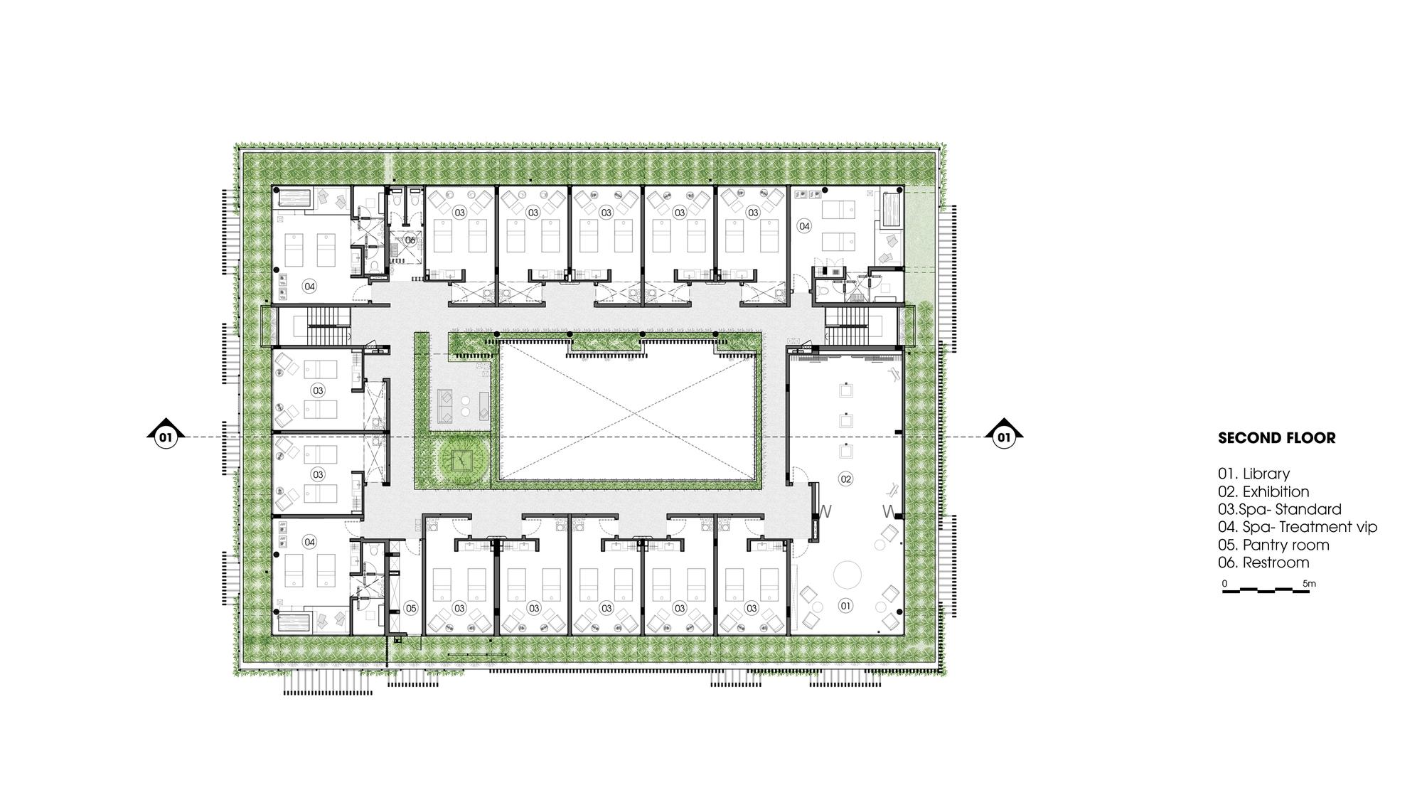 Gallery Of Naman Spa Mia Design Studio 19