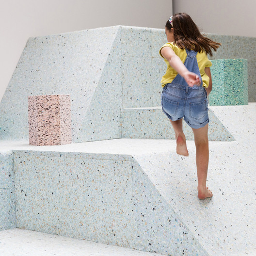 The Brutalist Playground by Assemble and Simon Terrill (Photo by Tristan Fewings & Getty Images for RIBA)