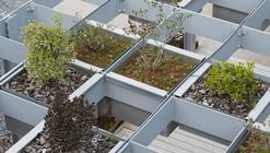 En Detalle: jardín elevado en Caleras de San Cucao, por Longo+Roldán Arquitectos