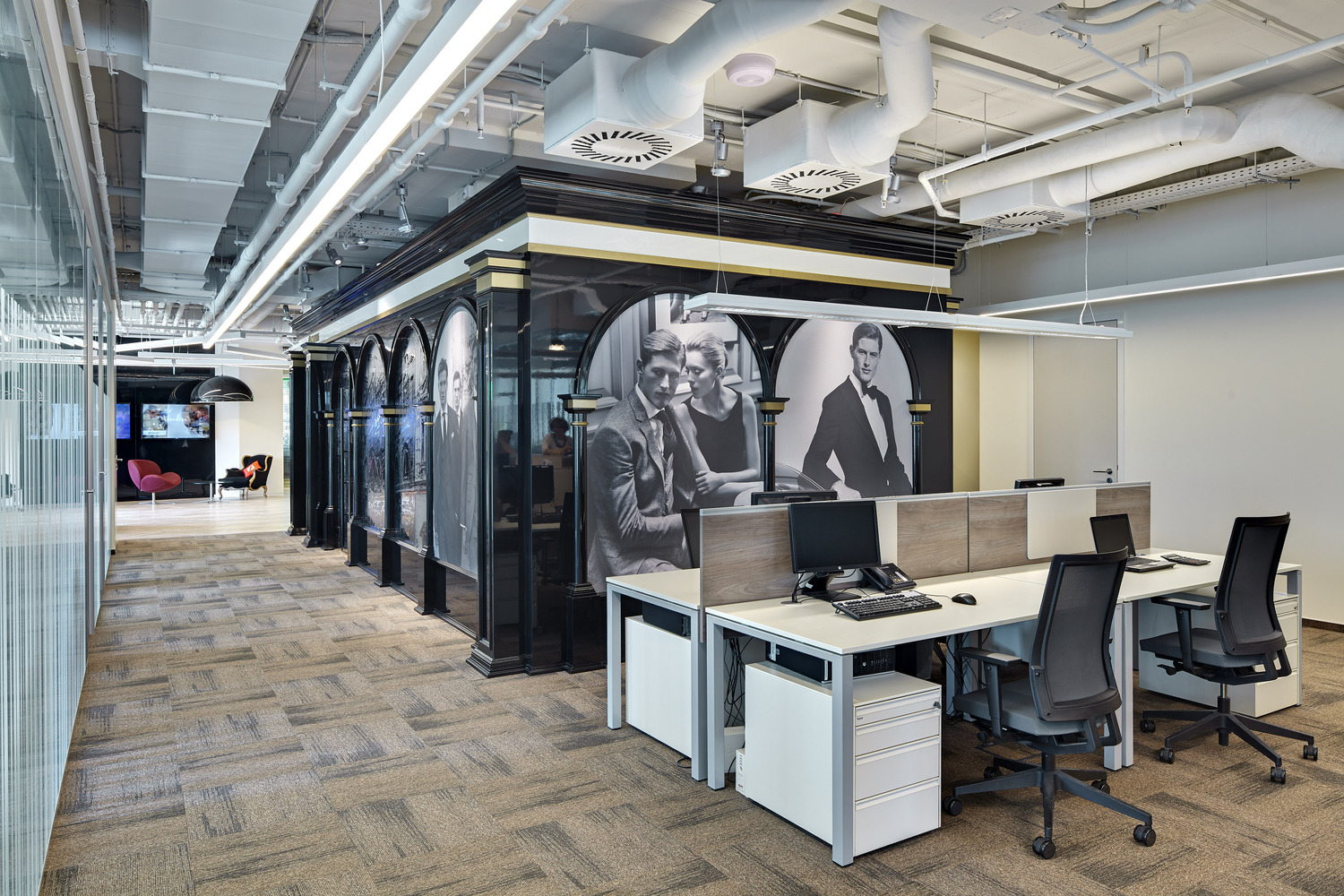 pernod ricard rouss officecourtesy of unk project best office flooring