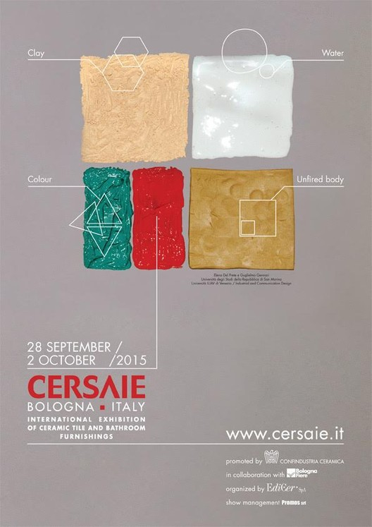 Exhibition: Cersaie 2015, Cersaie 2015 Event Poster