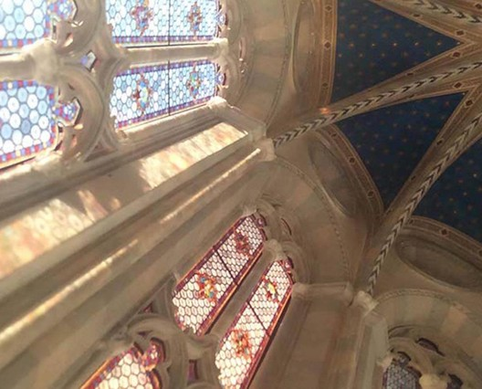 Apse Ceiling. Image Courtesy of Ryan McAmis