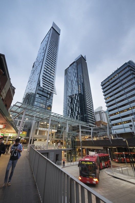 Chatswood Transport Interchange. Imagen cortesía de The Council on Tall Buildings and Urban Habitat