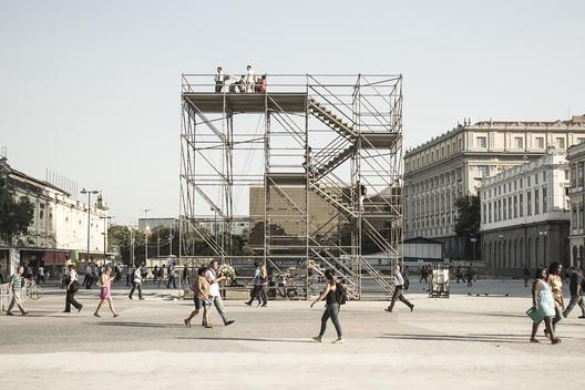 Primeiro Lugar: Cota 10, por Grua Arquitetura. Image Cortesia de Instituto Tomie Ohtake