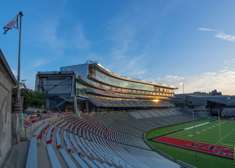 ARO and Heery Design Nippert Stadium Expansion for University of Cincinnati, Courtesy of The University of Cincinnati