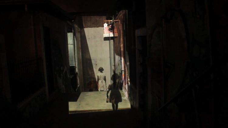 Proyección Anamórfica: Sergio Larraín. Image Cortesía de Delight Lab