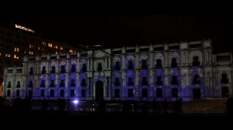 Mapping La Moneda, Día Internacional del Medioambiente. Image Cortesía de Delight Lab
