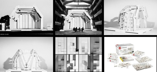 Press Pictures - photo by Tiziana Portera and Daniele Lancia - LEGO models by Gridshell.it