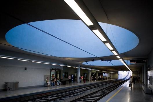 Casa da Musica Subway Station. Image © Fernando Guerra | FG + SG