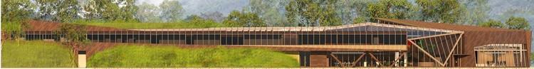 Elevación/Alzado Norte. Image Cortesía de Guarello Arquitectos