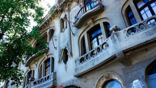 Colegio de Arquitectos de Chile. Image vía CECli [Gonzalo Gárate]