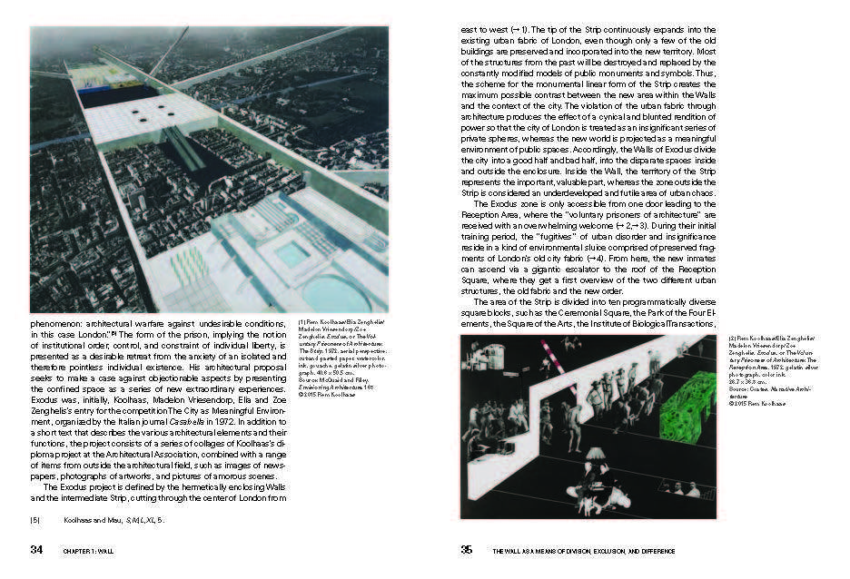 rem koolhaas thesis exodus Transcript of exodus - rem koolhaas exodus or the voluntary prisoners of architecture once, a city was divided in two parts one part became the good half.