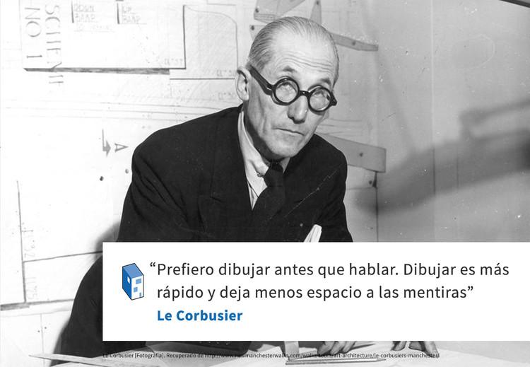 Frases: Le Corbusier y el dibujo