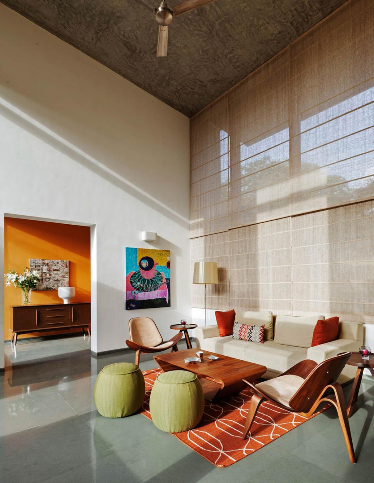 Gallery Of L Plan House Khosla Associates 5