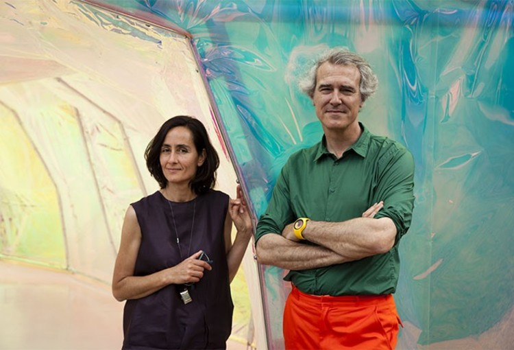 José Selgas and Lucía Cano. Image via COS
