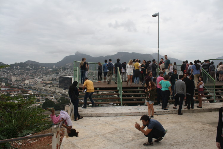 Visita Técnica Morro da Provicência. Image © Gabriel Pedrotti