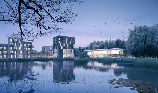 Waterbeach Hub Building, Mole Architects