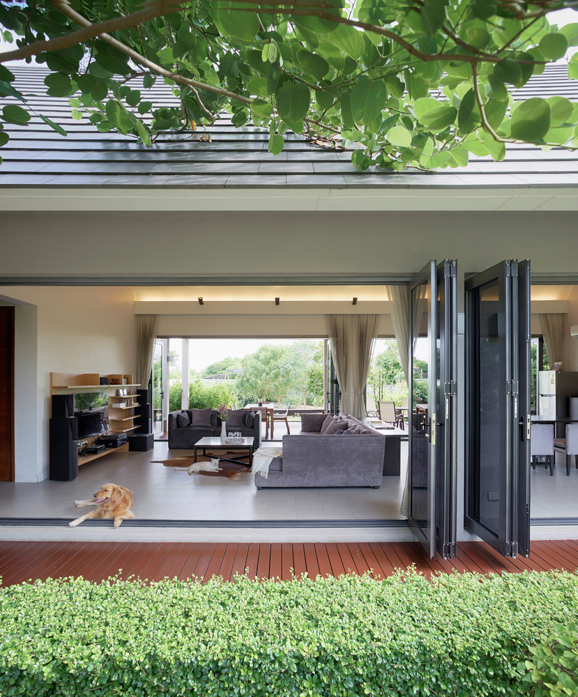 The Triangle House in Bangkok on