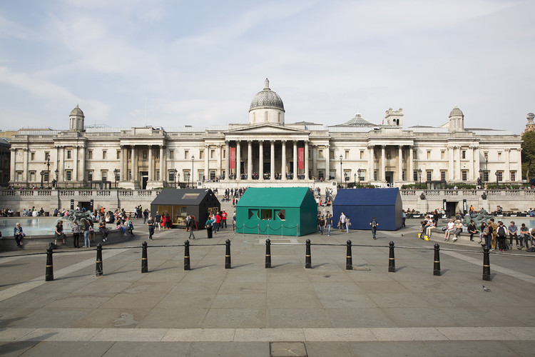 Trafalgar Square (2014 LDF). Image Courtesy of London Design Festival