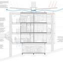 Corte transversal. Image © Grupo Garoa + Cura + Costa e Macedo Arquitetos