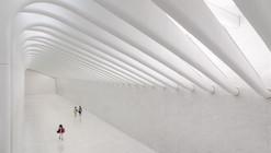 Visita el interior del Centro de Transportes de Santiago Calatrava en Nueva York