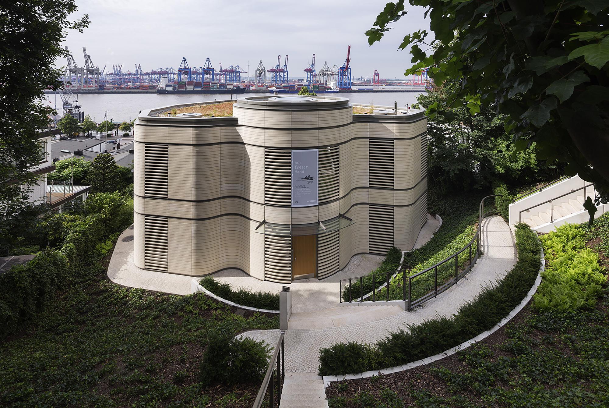 Architecture pavilion gmp architekten archdaily - Gmp architektur ...