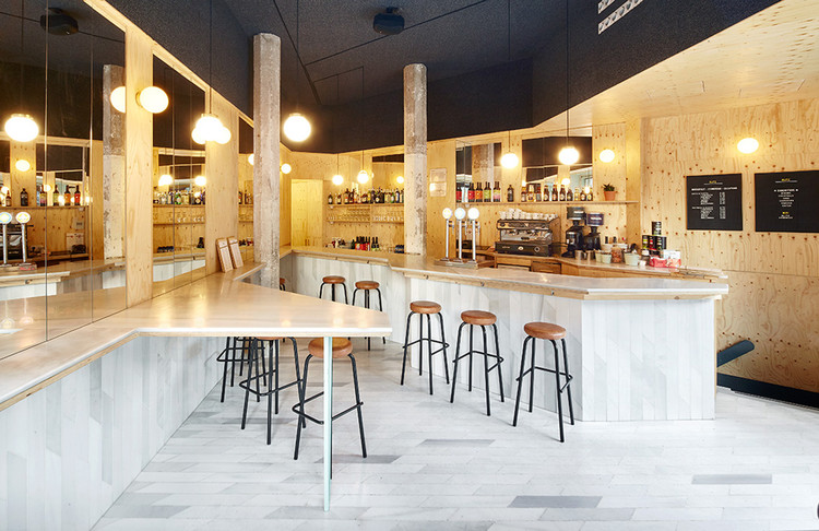 Sandwich Bar Blitz / FLEXOARQUITECTURA, © José Hevia