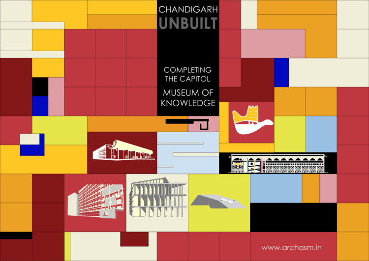 Open Call: Chandigarh Unbuilt Competition to Complete Le Corbusier's Capitol, Courtesy of archasm