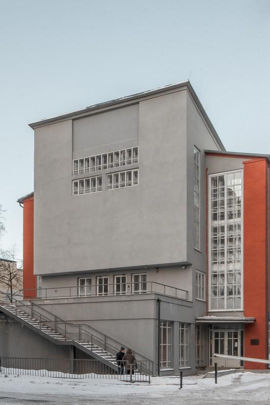 Frunze Workers' Club (1927-1929) / Konstantin Melnikov. Image © Denis Esakov