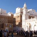 Haroon Alrashid Mosque in Shibam. Image © Flickr CC user Najeeb Musallam