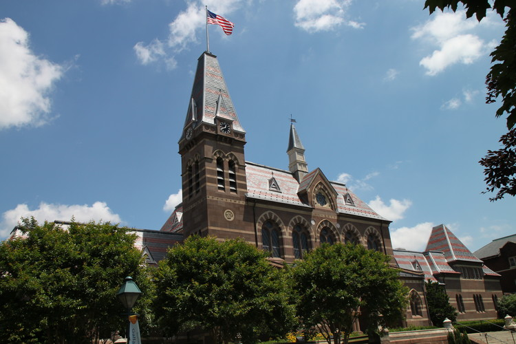 Gallaudet University Launches $60M Public Competition to Redesign Its Campus, Gallaudet Chapel Hall. Image © Flickr CC User Mr.TinDC